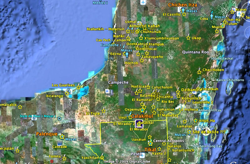 K'ÀAK' CHI - Yucatan.  Qui la découvrira? - Page 3 Carte-11