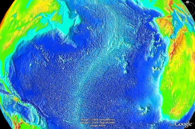 FONDS OCéANIQUES - Topographie - FOND OCéANIQUE océan [Surcouche / Overlay pour Google Earth] Dorsal10