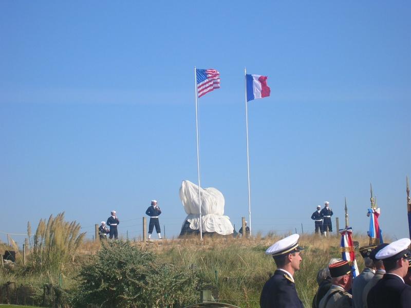 Inauguration monument USN Utah Beach Dscn1010