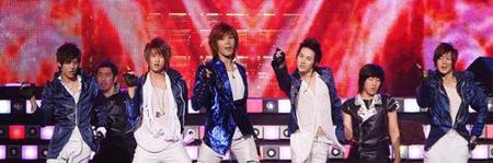 Lucky dáy của SS501 đạt vị trí thứ hai trên bảng xếp hạng Oricon 08062310