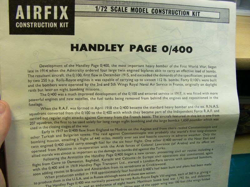 Airfix - Handley Page 0/400 1_01510