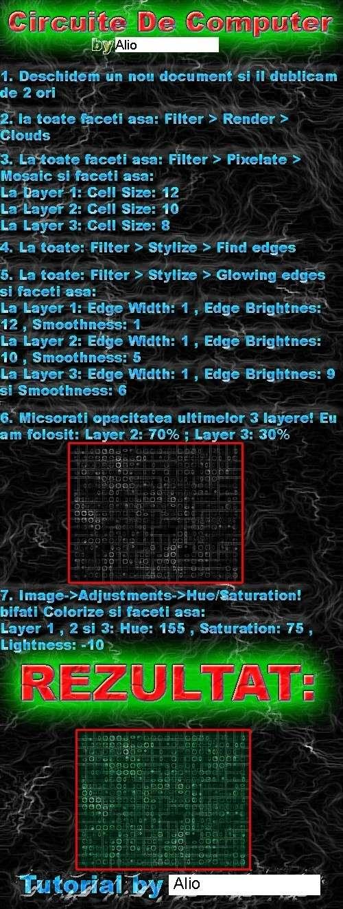 [Tutorial] Circuite de Calculator 30bo9j10