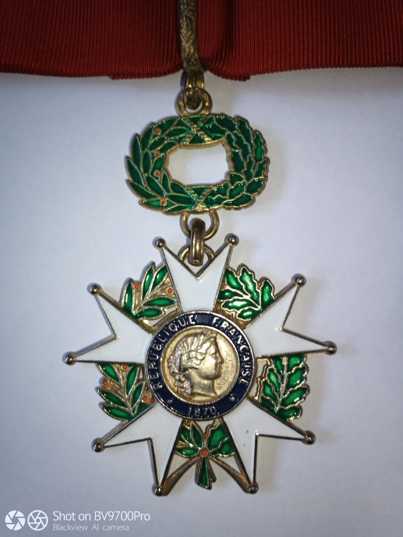 Commandeur  Légion d'honneur . Img_2103
