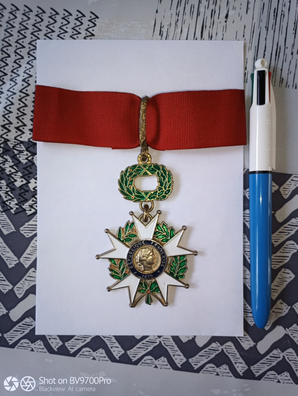 Commandeur  Légion d'honneur . Img_2104