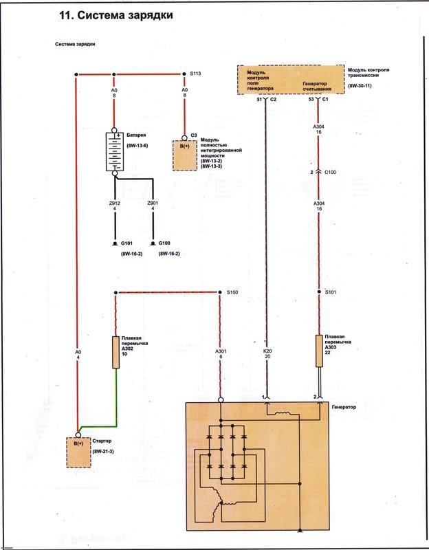 Электрические схемы 1114