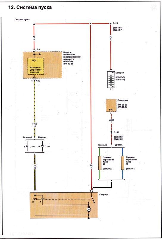 Электрические схемы 1210