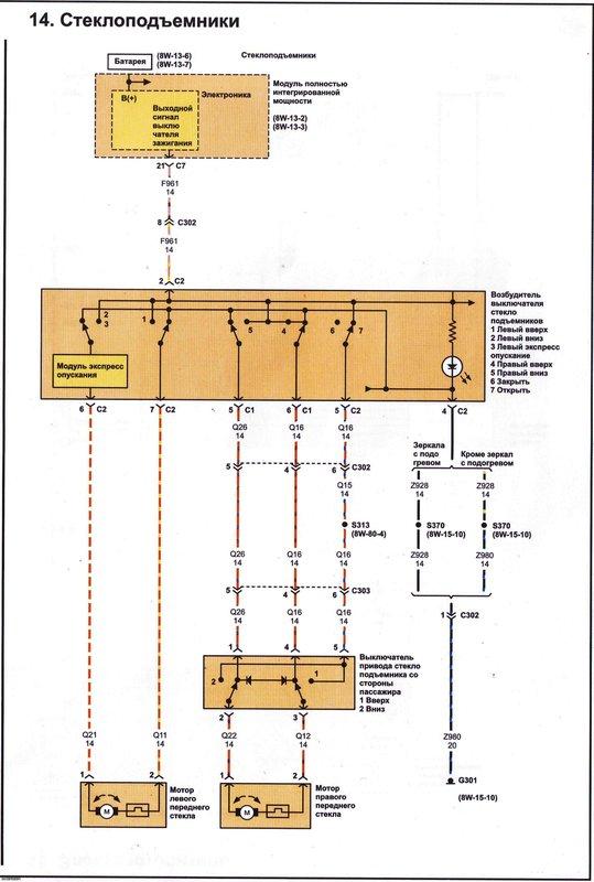 Электрические схемы 1411