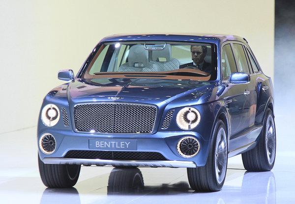 Главная сенсация Женевы: внедорожник Bentley 160
