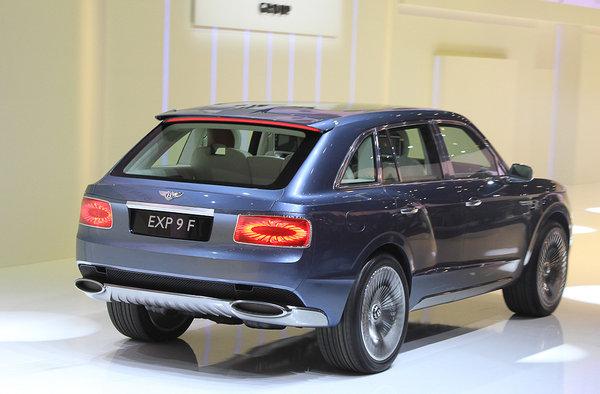 Главная сенсация Женевы: внедорожник Bentley 253
