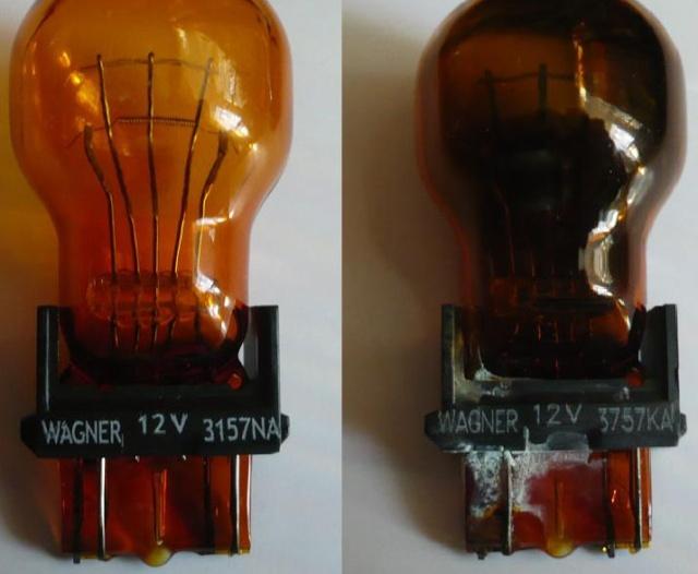 Замены ламп наружней световой сигнализации и освещения.  310