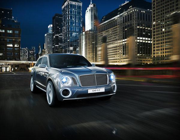 Главная сенсация Женевы: внедорожник Bentley 346