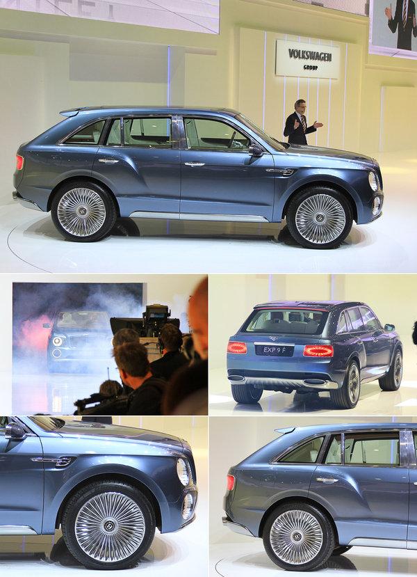 Главная сенсация Женевы: внедорожник Bentley 441