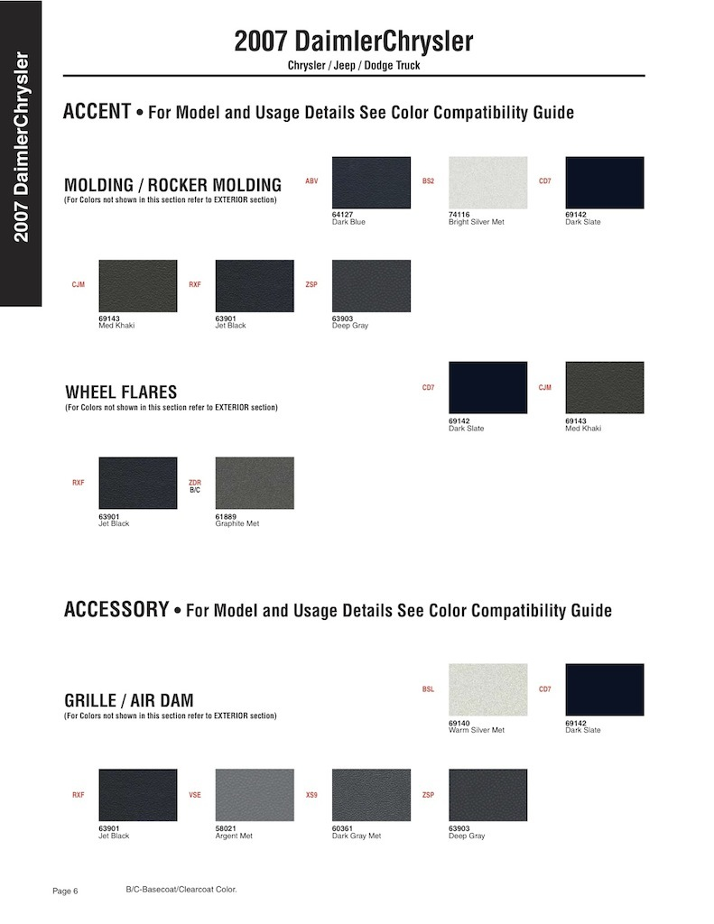 Как узнать свой код краски. 534