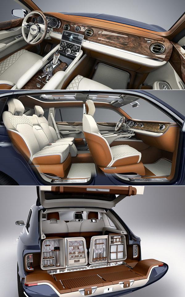 Главная сенсация Женевы: внедорожник Bentley 535