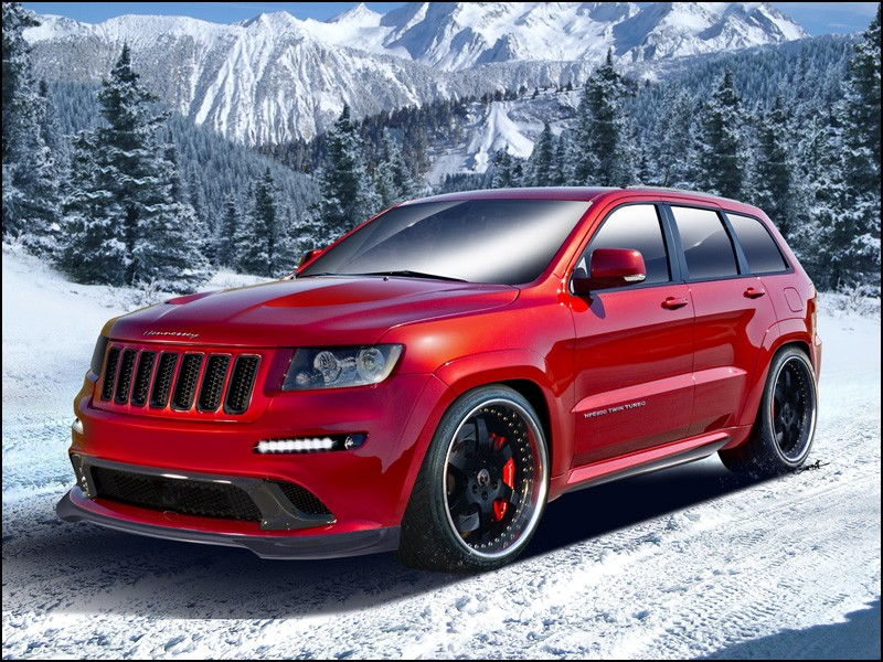 Сделан самый мощный Jeep Grand Cherokee. 584e8510