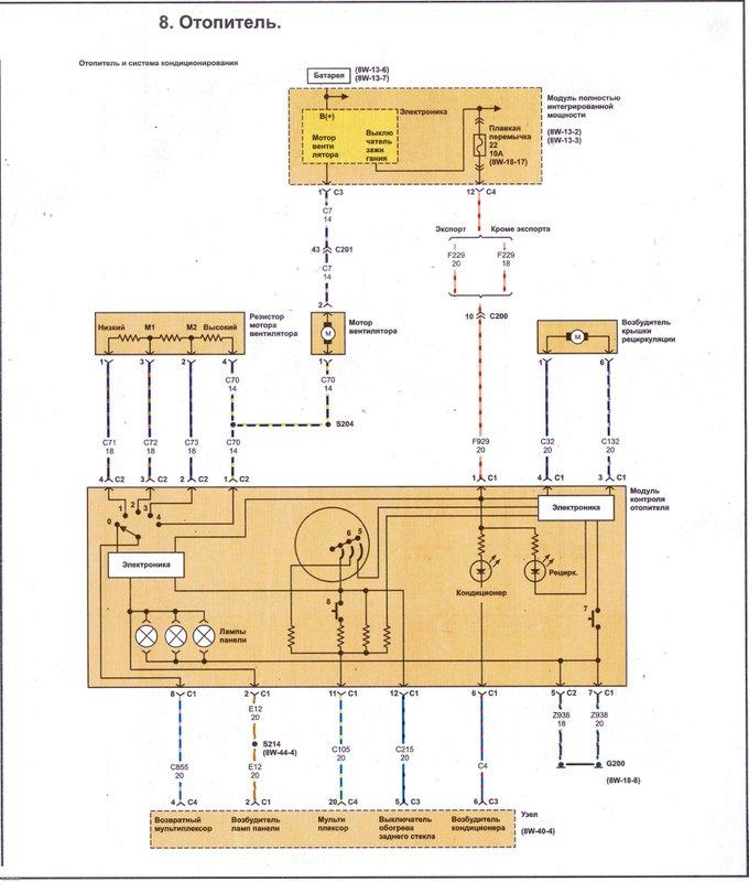 Электрические схемы 816