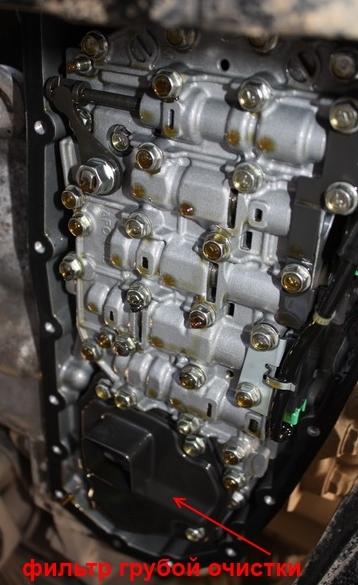 JATCO CVT & DaimlerChrysler  замена масла. 822