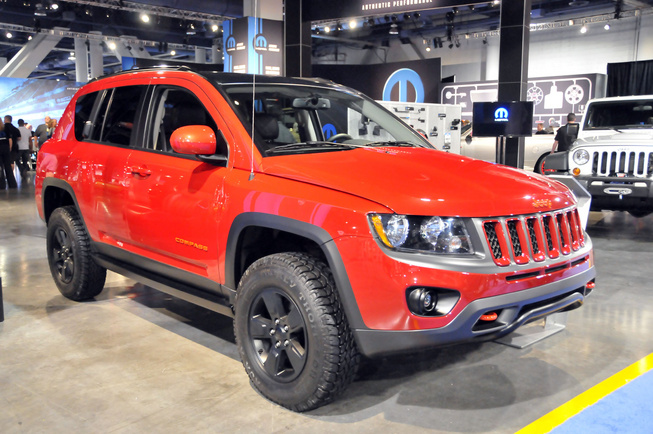 Jeep Compass Canyon, SEMA 2011 Jeep-c10