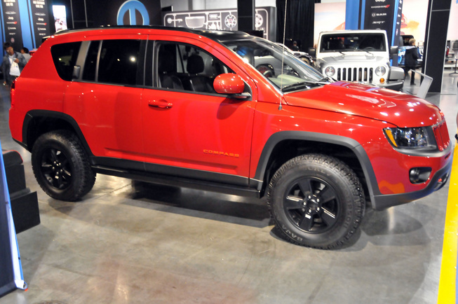 Jeep Compass Canyon, SEMA 2011 Jeep-c12