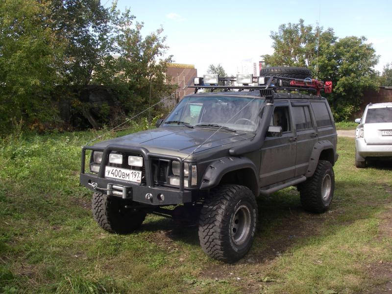 Дополнительный обвес на Jeep Compass Rally Ndun10