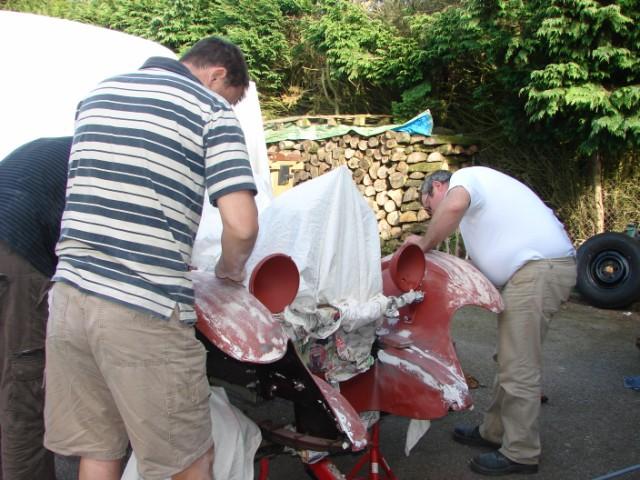Restauration de la B14 TB ( Pour le Tour de Bretagne) Dsc04515