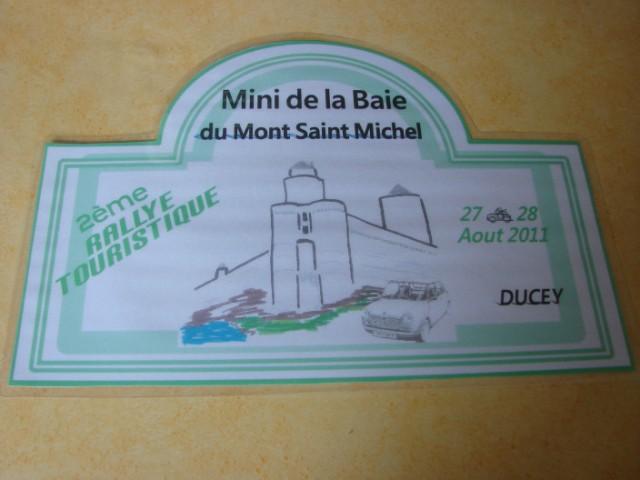 Minis de l' ABVA à la SORTIE MINI de la BAIE du MONT St MICH Dsc05610
