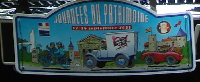 sortie du Patrimoine 2011 Plaque13
