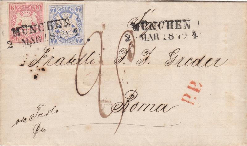 Transitpostverhältnisse Österreichs zu Bayern 1850 - 75 Img_0010