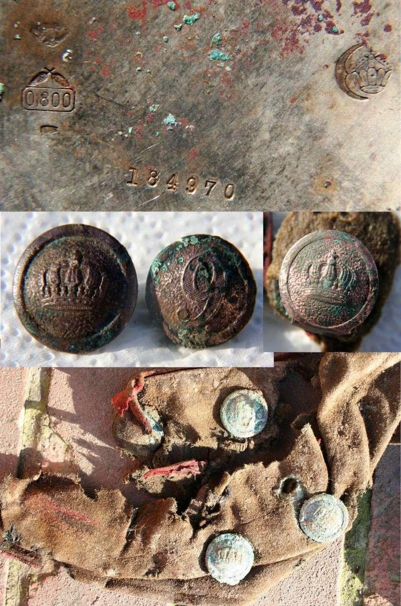 Identification d 'une montre trouvée sur un soldat allemand de la 1GM Modest13