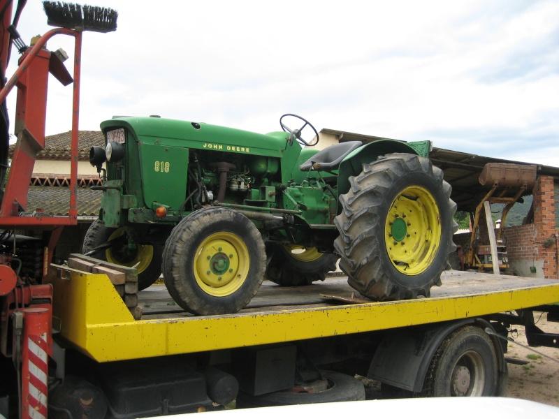 Mi John Deere 818 ya está en mi pueblo. / Tractores en venta en Olot (GE). Img_0010