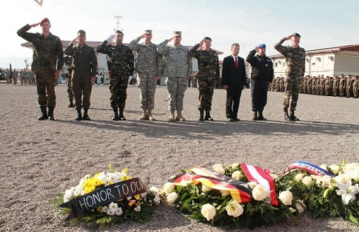 11 novembre: commémorations sur les Théâtres d'Opérations Extérieures(2012) - Actualisé (Source du Ministère des Armées Françaises) 11-nov14