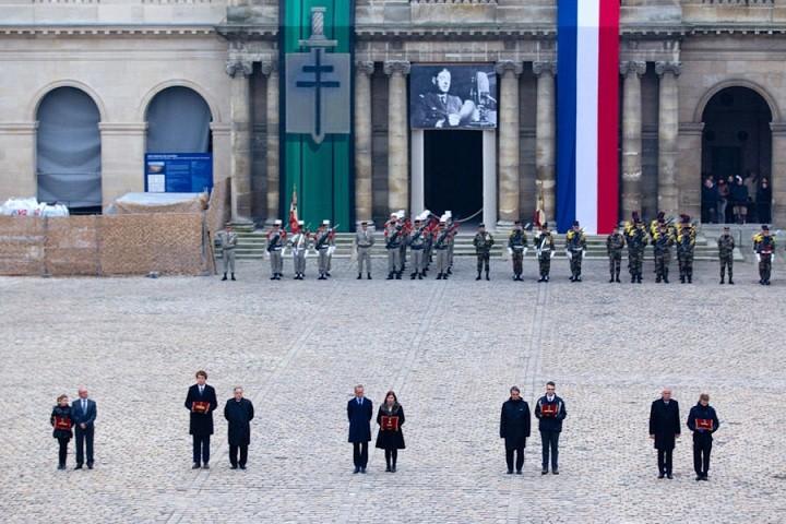 Passation de témoin à l'Ordre de la Libération(Source Ministère des Armées Françaises) _i7y6310