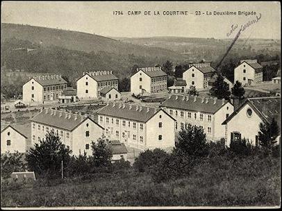 Camp de La Courtine.(Source WIKIPEDIA) Camp_d10