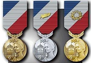 La médaille de la sécurité intérieure et son décret. Madail10