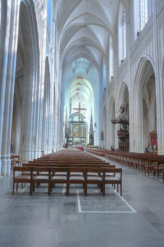 Cathédrale d'Anvers en HDR Hdr_6-11