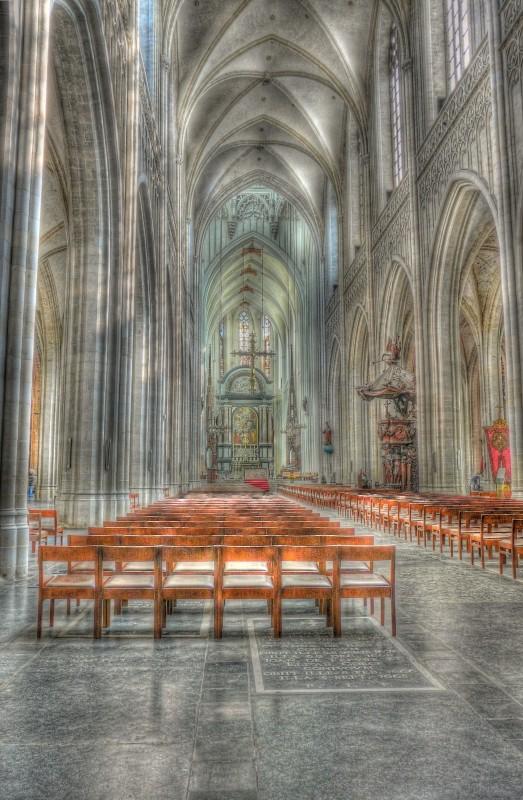 Cathédrale d'Anvers en HDR Hdr_6-13