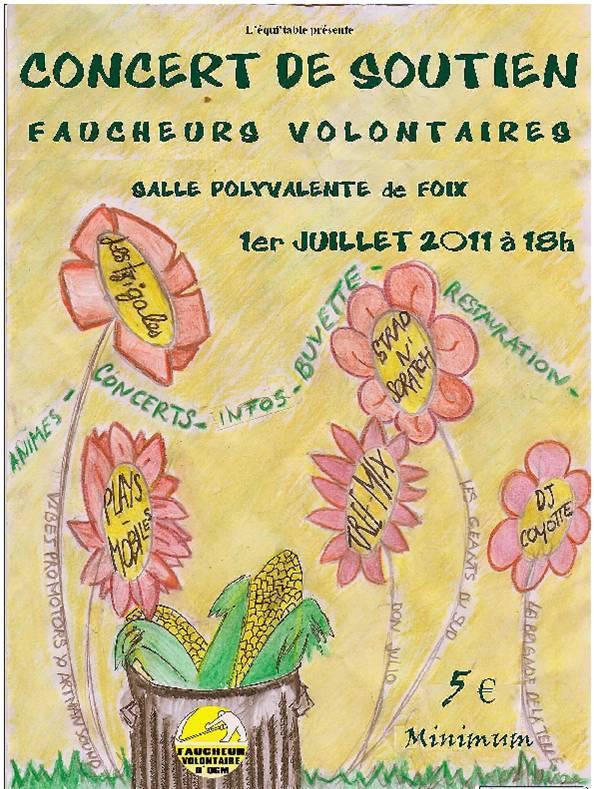 Concert de soutien aux Faucheurs Volontaires d'OGM Concer10