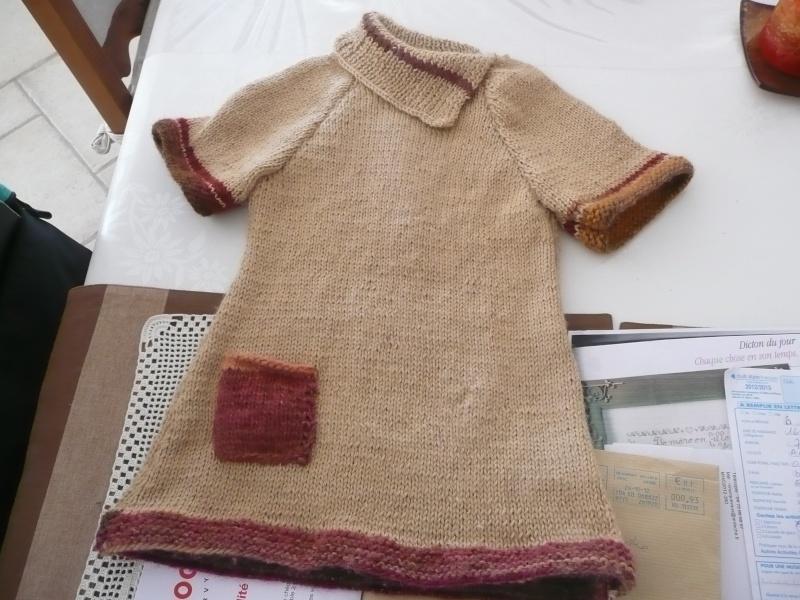 petite robe laine et gilet  2012_145