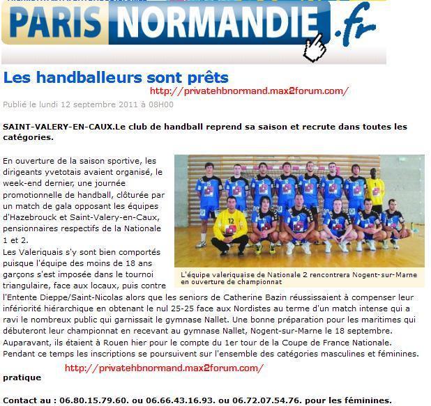 STADE VALERIQUAIS HANDBALL Sans_t67