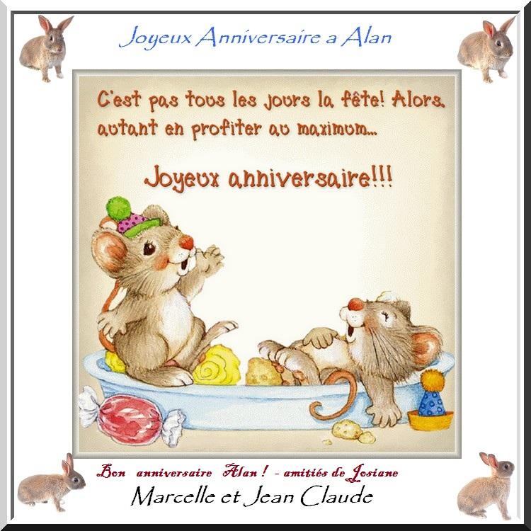 Bon Anniversaire A Alan Le Fils De Marianne