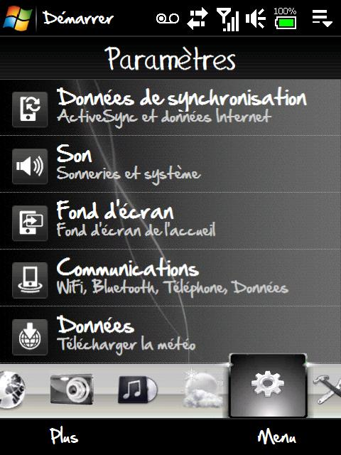 Theme Black & white (1er theme) + horloge TwyliteZone (MAJ) Screen11