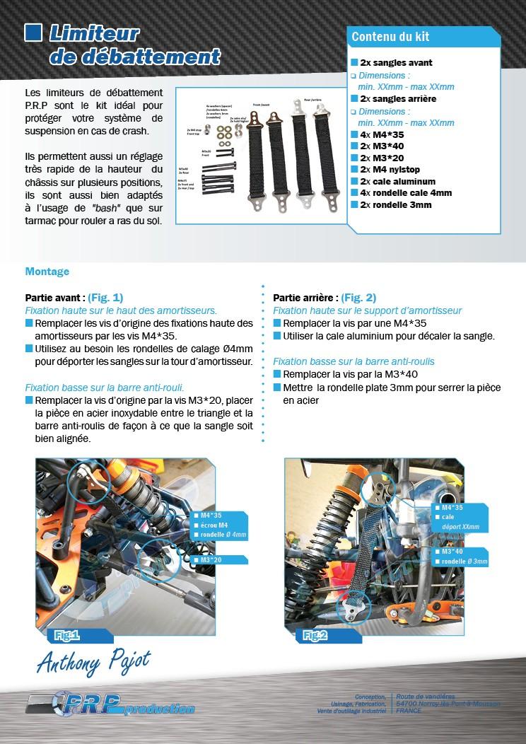 PRP Production limits straps Limite10