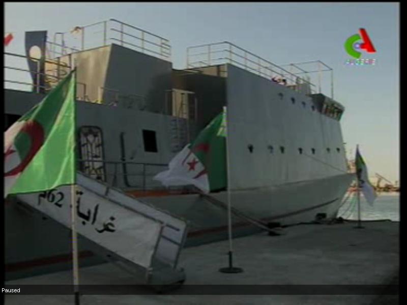 البحرية الجزائرية تصنع قطعها بنفسها بنسبة 100 من المائة Gharab10