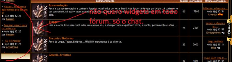 Chatbox personalizado em todas as páginas phpbb2 310