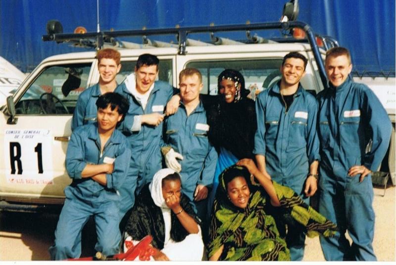 raid de l amitié maroc 1993 1er pas 4wd pour moi  01113