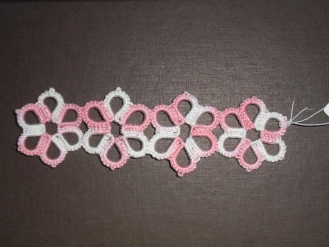 marque page + colliers + croix  Fleur_10