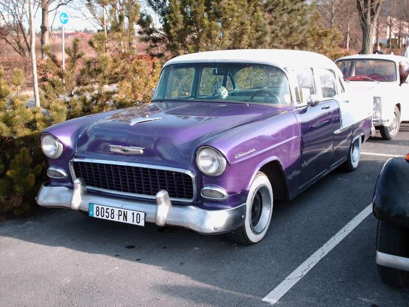 véhicule US et les belles vintage européennes. Pict0611