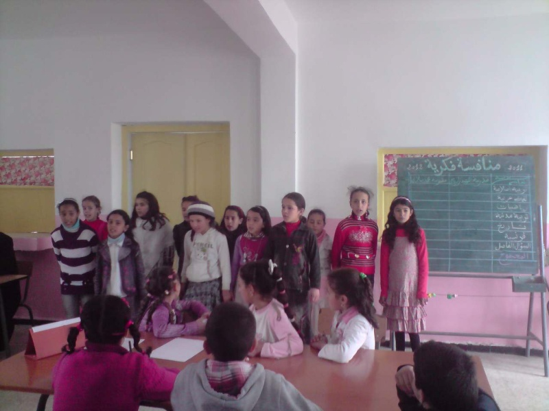منافسة فكرية بين مدرسة سلالي محمد بتابلاط ومدرسة الشهيد:زايري يحي(أبوبكر الصديق) بالعزيزية P0603116