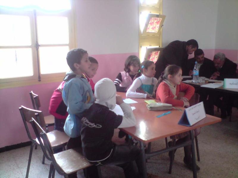 منافسة فكرية بين مدرسة سلالي محمد بتابلاط ومدرسة الشهيد:زايري يحي(أبوبكر الصديق) بالعزيزية P0603117
