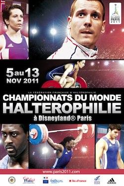 Pin's - Championnat du Monde d'Haltérophilie 2011 11070110